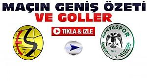 Eskişehirspor Konyaspor Maçının Özeti-VİDEO