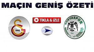 Galatasaray-Torku Konyaspor-ÖZET-VİDEO