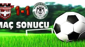 Gaziantepspor Torku Konyaspor Maç Sonucu