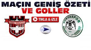 Gaziantepspor Torku Konyaspor-ÖZET-VİDEO