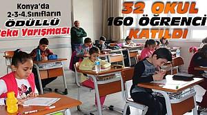 Genç Zekalar Konya'da Yarıştı