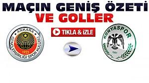 Gençlerbirliği-Konyaspor-ÖZET-VİDEO
