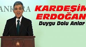 Gül Erdoğan'a Görevini Teslim Etti