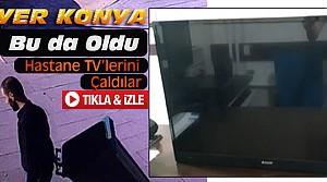 Hastane Televizyonlarını Çalan Kişiler Tutuklandı