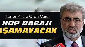 HDP Barajı Aşamayacak
