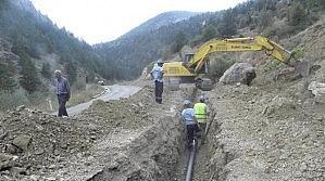 Huğlu Mahallesi'nin 40 Yıllık Su Sorunu Çözüldü