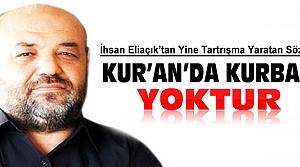 İhsan Eliaçık'tan Şok Kurban Açıklaması