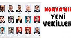 İşte Konya'nın Yeni Milletvekilleri