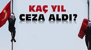 İşte Türk Bayrağını İndirenin Cezası