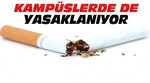 Kampüslerde sigara satışı yasaklanacak