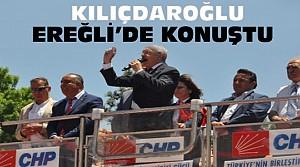 Kemal Kılıçdaroğlu Ereğli'deki Mitingde Konuştu