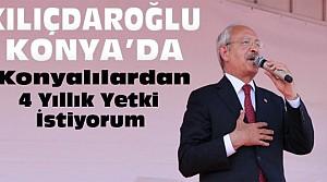 Kemal Kılıçdaroğlu Konya'da Konuştu