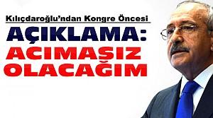 Kılıçdaroğlu Kongre Öncesi Açıklama Yaptı