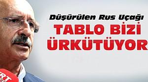Kılıçdaroğlu'ndan Düşen Rus Uçağı Değerlendirmesi
