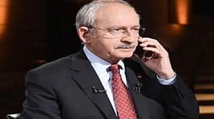 Kılıçdaroğlu'ndan şehit ailelerine telefon