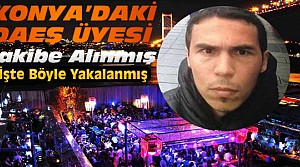 Konya Bağlantıları Reina Teröristini Yakalattı