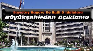 Konya Büyükşehir Belediyesinden Sayıştay Açıklaması
