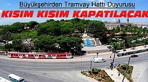 Konya Büyükşehir'den Tramvay Hattı Duyurusu