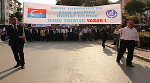 Konya Ülkü Ocaklarından Protesto Yürüyüşü