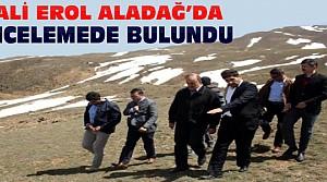 Konya Valisi Erol Aladağ'da İnceleme Yaptı