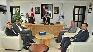 Konya Vergi Dairesi Başkanı Ünver'den Akkaya'ya Ziyaret