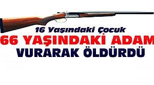 Konya'da 16 Yaşındaki Çocuk Cinayet İşledi