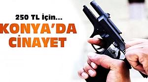 Konya'da 250 TL için eski ev sahibini öldürdü