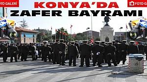 Konya'da 30 Ağustos Zafer Bayramı-FOTO GALERİ