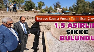 Konya'da Bin Beşyüz Yıllık Sikke Bulundu