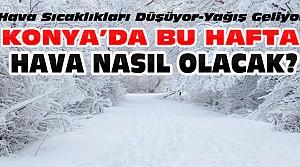 Konya'da Bu Hafta Hava Nasıl Olacak?