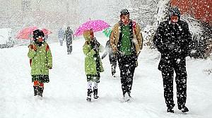 Konya'da bu ilçelerde kar tatili