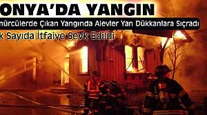 Konya'da Büyük Yangın