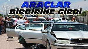 Konya'da Büyük Zincirleme Kaza