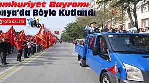 Konya'da Cumhuriyet Bayramı Kutlamaları