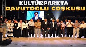 Konya'da Davutoğlu Coşkusu