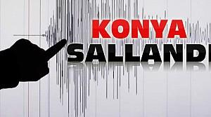 Konya'da deprem