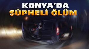 Konya'da-Direksiyon Başında Ölü Bulundu