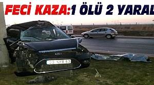 Konya'da Feci Kazada 1 Kişi Öldü 2 Yaralı