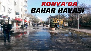 Konya'da Güneş Açtı-Kar Tekrar Yağacak mı?