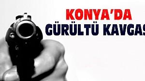 Konya'da Gürültü Kavgasında 1 Kişi Silahla Vuruldu