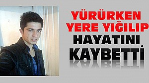 Konya'da İzine Gelen Asker Yere Yığılarak Öldü