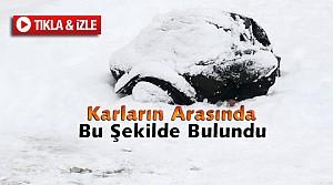 Konya'da Karların Arasında Ölü Bulundu-VİDEO