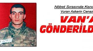 Konya'da Kendini Vuran Asker