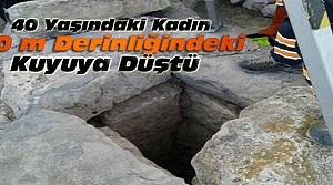 Konya'da kuyuya düşen kadın öldü