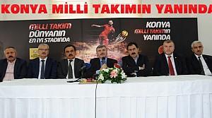 Konya'da Milli Maç Öncesi Basın Toplantısı