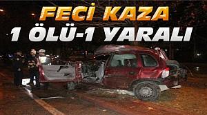 Konya'da Otomobil Ağaca Çarptı:2 Ölü