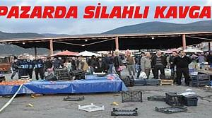Konya'da Pazar Yerinde Silahlı Kavga
