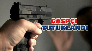 Konya'da Silahlı Gaspçı Tutuklandı