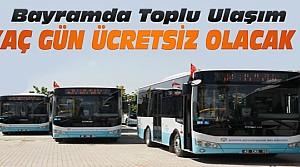 Konya'da Toplu Ulaşım Bayramda Kaç Gün Ücretsiz?