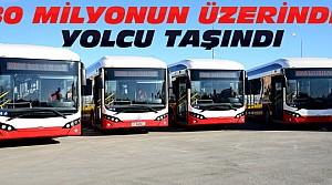 Konya'da Toplu Ulaşımda 1 Yılda 80 Milyon Yolcu